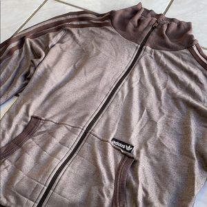 Adidas Brown Women's Track Jacket